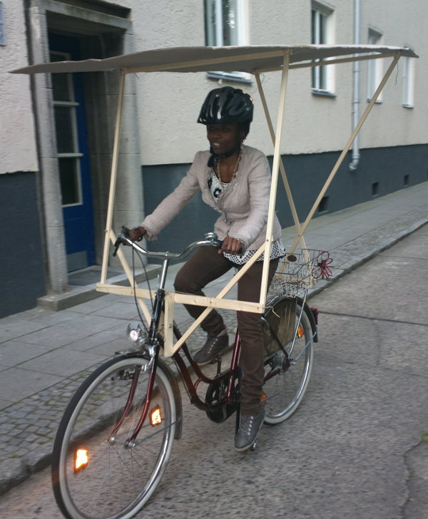 Zolar Bike Roof Prototype 1